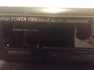 Receiver Sony 0.1% THD (total harmonic distortion) London Ontario image 2