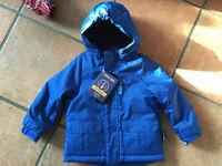 Blue Cherokee winter jacket size 3T