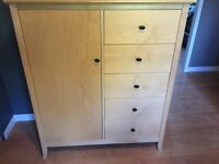 Solid Maple Dresser and Nightstand