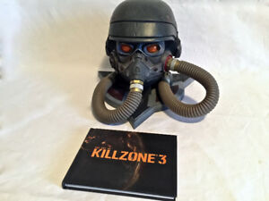 Killzone 3 Decorative Helmet and Art Book Helghast Edition PS3