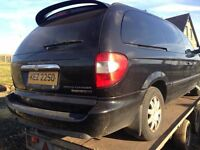 Chrysler voyager 2.8 Crd 2.5 Crd breaking all parts