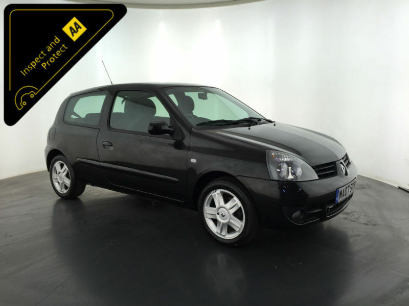 2007 renault clio campus sport 16v service history finance px welcome in hinckley. Black Bedroom Furniture Sets. Home Design Ideas