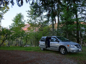 Dodge Caravan - CAMPING / TRAVEL Van - KAMLOOPS - until Oct 15th