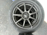 Hyundai Genesis Sedan winter tires and rims