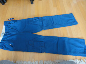 Brand new with tags Boy's Old Navy blue cargo pants Size 14 London Ontario image 1