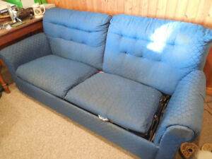 Fold out couch.