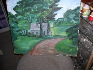Fredericton Artist Marguerite McNair  Painting