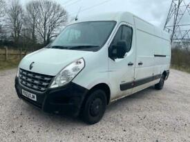 2013 63 RENAULT MASTER 2.3 DCI 125 LM35 LWB MEDIUM ROOF DRIVES PERFECT PX SWAPS