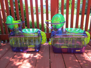 *AMAZING* DELUXE HAMSTER CAGES AND ACCESSORIES SET
