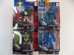 Transformers Titan Wars Deluxe Wave 1 - 4 figures MOSC