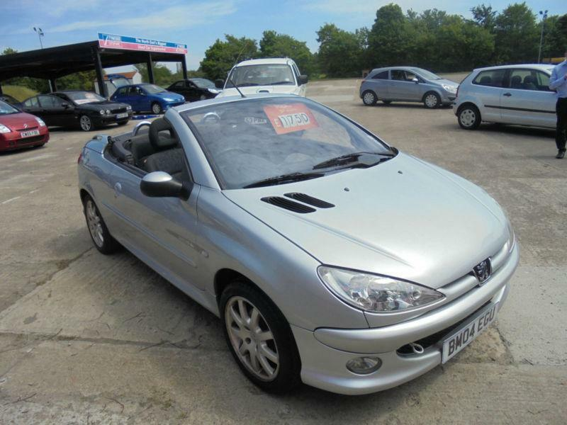 2004 peugeot 206 1 6 16v quiksilver coupe cabriolet quicksilver in newcastle tyne and wear. Black Bedroom Furniture Sets. Home Design Ideas