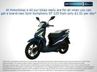 SYM SYMPHONY ST 125