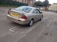 Quick sale 12months mot immaculate rare Honda coupe very cheap bargain cheapest around