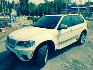 2011 BMW X5 35d Fully Loaded. White.
