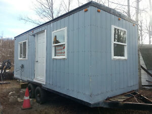 Office trailer / mobile hunting camp