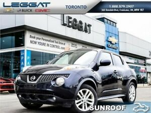 2013 Nissan JUKE SL  - Sunroof -  Bluetooth -  Heated Seats