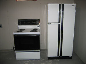 Frige and Stove