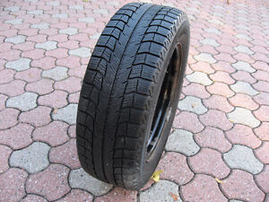 4 tires Michelin X Ice 2  P195/65/R15 in excellent condition