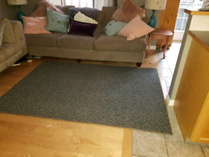 Couch, but chair and area rug