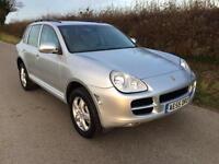 2005 55 PORSCHE CAYENNE 4.5 S 5D AUTO 340 BHP