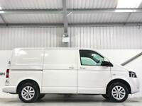 VW VOLKSWAGEN TRANSPORTER 2.0TDi SWB LOW MILEAGE SAT NAV HIGHLINE WHEELS AIR CON