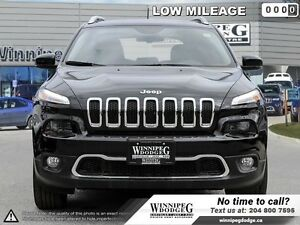 2016 Jeep Cherokee Limited V6 4x4 w/Tow Package  Navi *DEMO*  4x