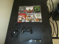 Playstation PS3 + Controller + 5 games