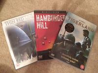 3 DVD's - war
