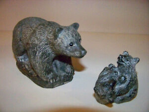 MOTHER AND CUBS SOAPSTONE***FIRST $20 GETS THEM***