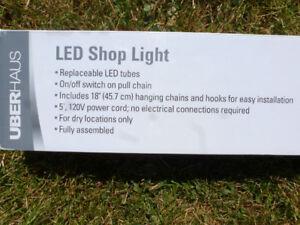 """Hanging 48"""" LED Shop light"""