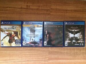PS4 and XBOX One Games London Ontario image 1