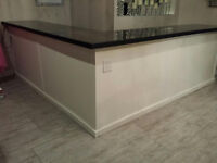 Beautiful Retail Sales Counter or Home Hobbiest Work area
