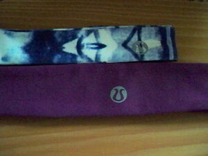LULU LEMON HEAD BANDS NEW WITH TAGS