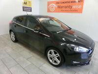 2015 Ford Focus 1.5TDCi 120 s/s Zetec NAV, TINTS, **BUY FOR ONLY £52 A WEEK**