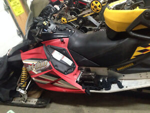 Parting out 2005 ski-doo 600sdi & other rev sleds