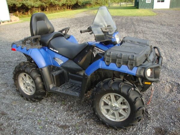 Used 2011 Polaris 850 EFI SPORTSMAN TOURING with EPS