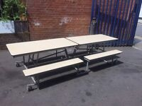 Large Folding Table Ideal For Canteen, Bar, Cafe, Restaurant