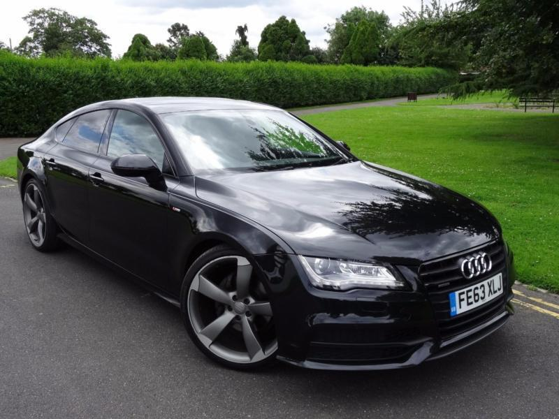 audi a7 3 0 tdi s line black edition quattro s tronic. Black Bedroom Furniture Sets. Home Design Ideas
