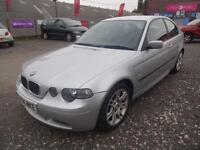 BMW 318Ti 2.0 SPORT COMPACT~04/2004~3 DOOR HATCHBACK~MANUAL~GENUINE 'SPORT'