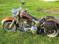 2008 Harley Softail Deluxe 105th  Anniversary Model