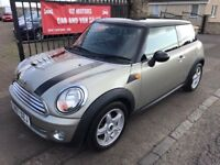 2007 MINI COOPER, SERVICE HISTORY, WARRANTY, NOT 1 SERIES FOCUS ASTRA GOLF A3