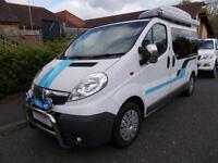 Vauxhall Vivaro CDTI 2 Berth Campervan 4 Traveling Seats Sat Nav Ref 9043