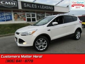 2014 Ford Escape Titanium  4X4, LEATHER, ROOF, NAV, PARKING ASSI
