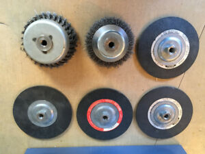 Grinding Discs and Wire cup brushes