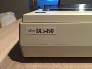 Fujitsu DL3450 dot matrix printer