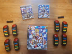 Buzz Quiz Bundle + PS3 Games