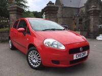 2011 (11) Fiat Grande Punto 1.4 8v Sound ** Only 64,000 Miles **