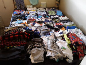 Various boys baby clothes