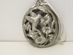 Pewter hummingbird  fragrance hanger London Ontario image 1