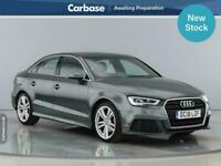 2018 Audi A3 2.0 TDI S Line 4dr S Tronic [7 Speed] SALOON Diesel Automatic
